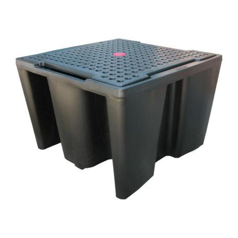503-04055 Spill Kits Direct - Direct IBC Sump Pallet - Single IBC 1a