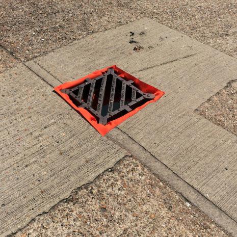 503-05001 Spill Kits Direct - Drain Guard in situ