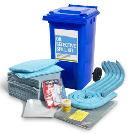 501-01012-Spill-Kits-Direct-Oil-Spill-Kits-Wheeled-bin-upto-210L