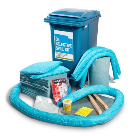 501-01013-Spill-Kits-Direct-Oil-Spill-Kit-Wheeled-Bin-upto-345L