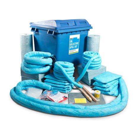 501-01016-Spill-Kits-Direct-Oil-Spill-Kit-Industrial-Wheeled-Bin-upto-1225L