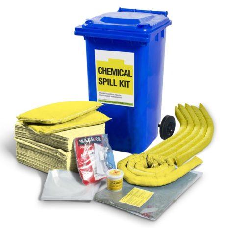 501-02012-Spill-Kits-Direct-Chemical-Wheeled-Bin-Spill-Kit-upto-166L