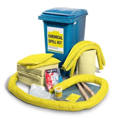 501-02013-Spill-Kits-Direct-Chemical-Wheeled-Bin-Spill-Kit-upto-269L