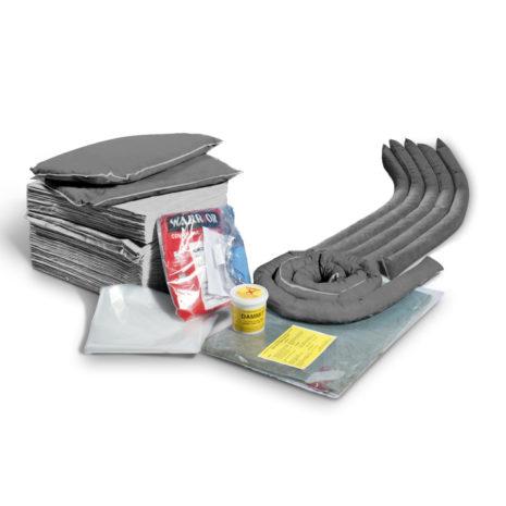 501-03012-R-Spill-Kits-Direct-Maintenance-Spill-Kit-Wheeled-Bin-REFILL-upto-