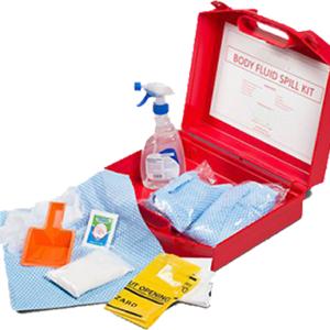 Emergency body fluid kit