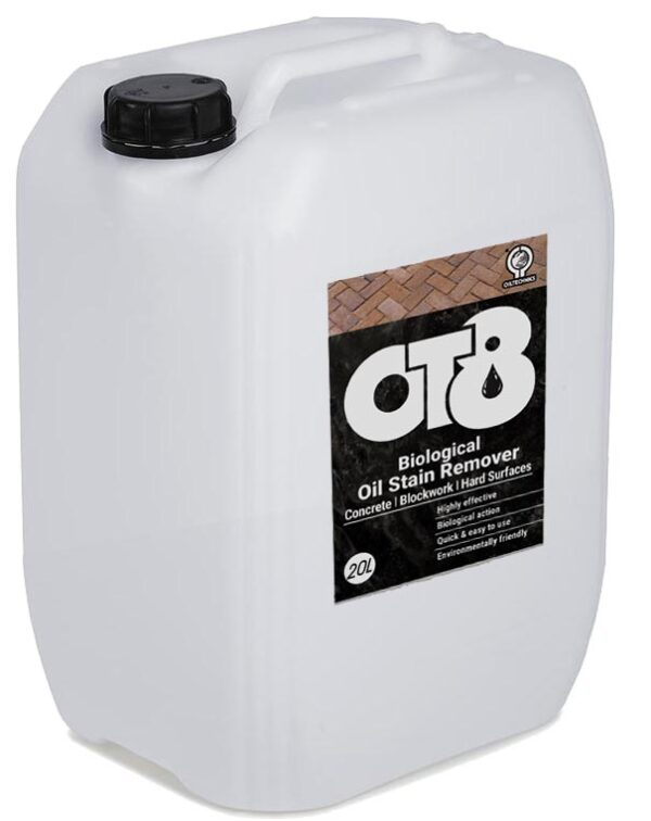 OT8 Biological Oil Stain Remover – 4 x 5L containers