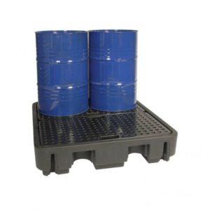 Direct Drum Sump Pallet 4 – 250 litre capacity  & low profile