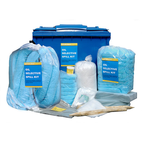 Oil Spill Kit 12 – Max Absorbency 658 Litres