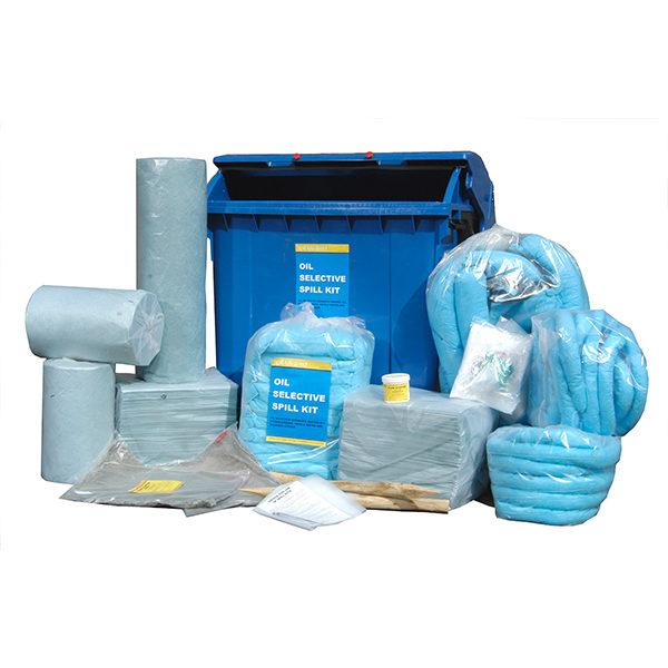 Oil Spill Kit 14 – Max Absorbency 1,225 Litres